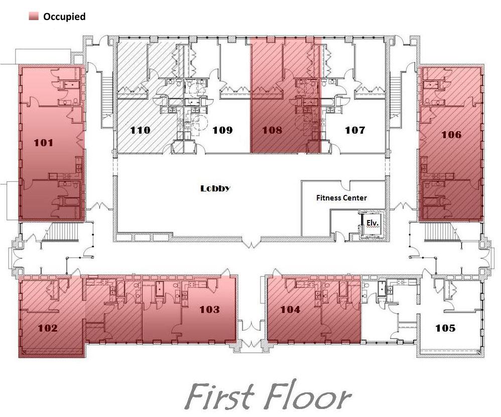 Hamilton Properties Corporation Floor Plans